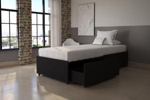 DHP Maven Upholstered Platform Bed