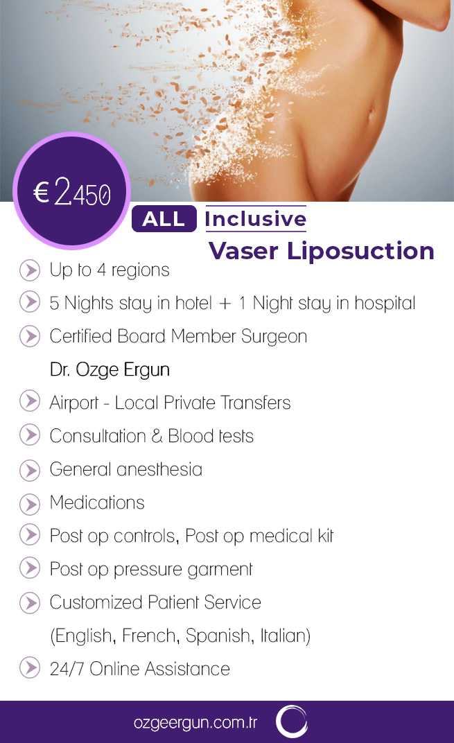 Vaser Liposuction Woman