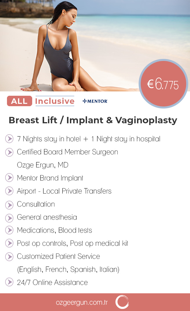 Breast Lift & Implant Vaginoplasty