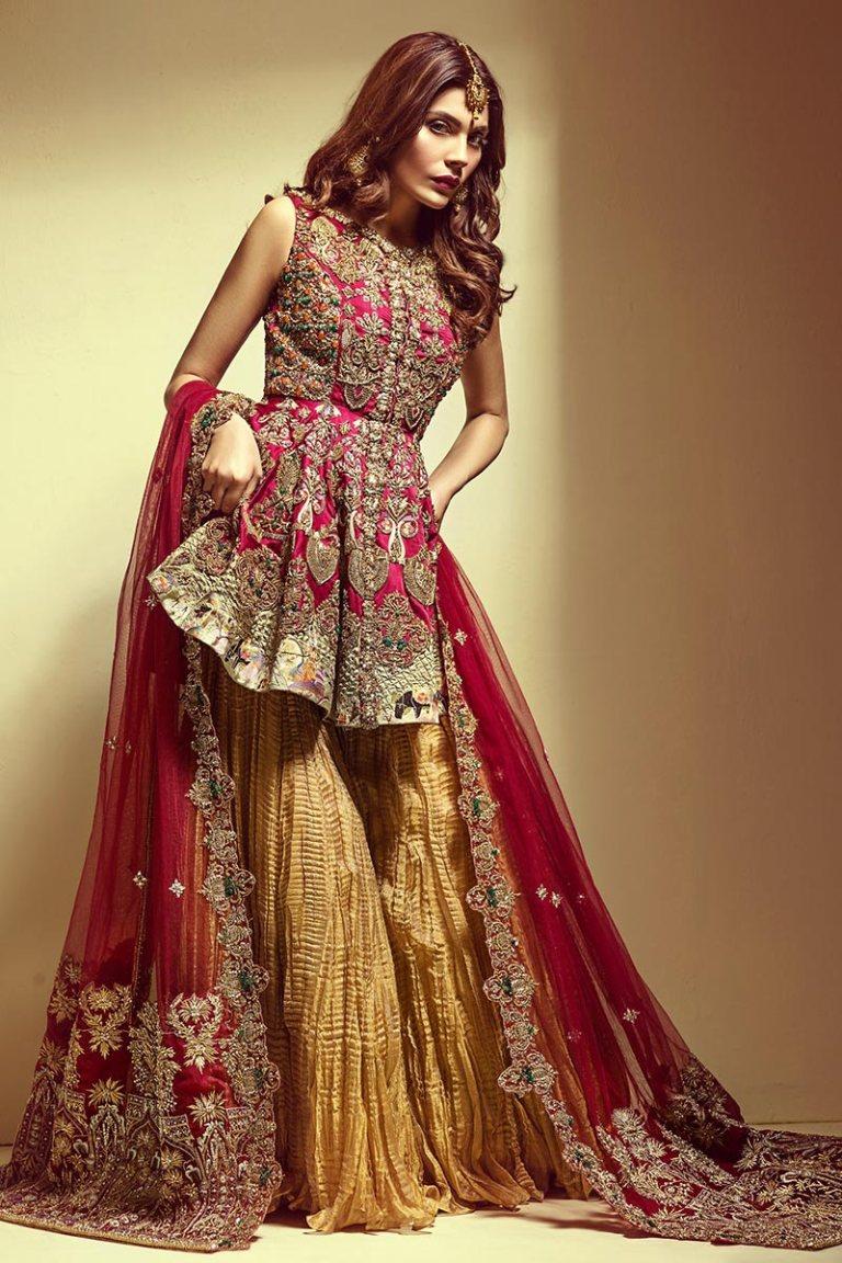 11 Mehendi Outfits Online by Pakistani Designer Mahgul