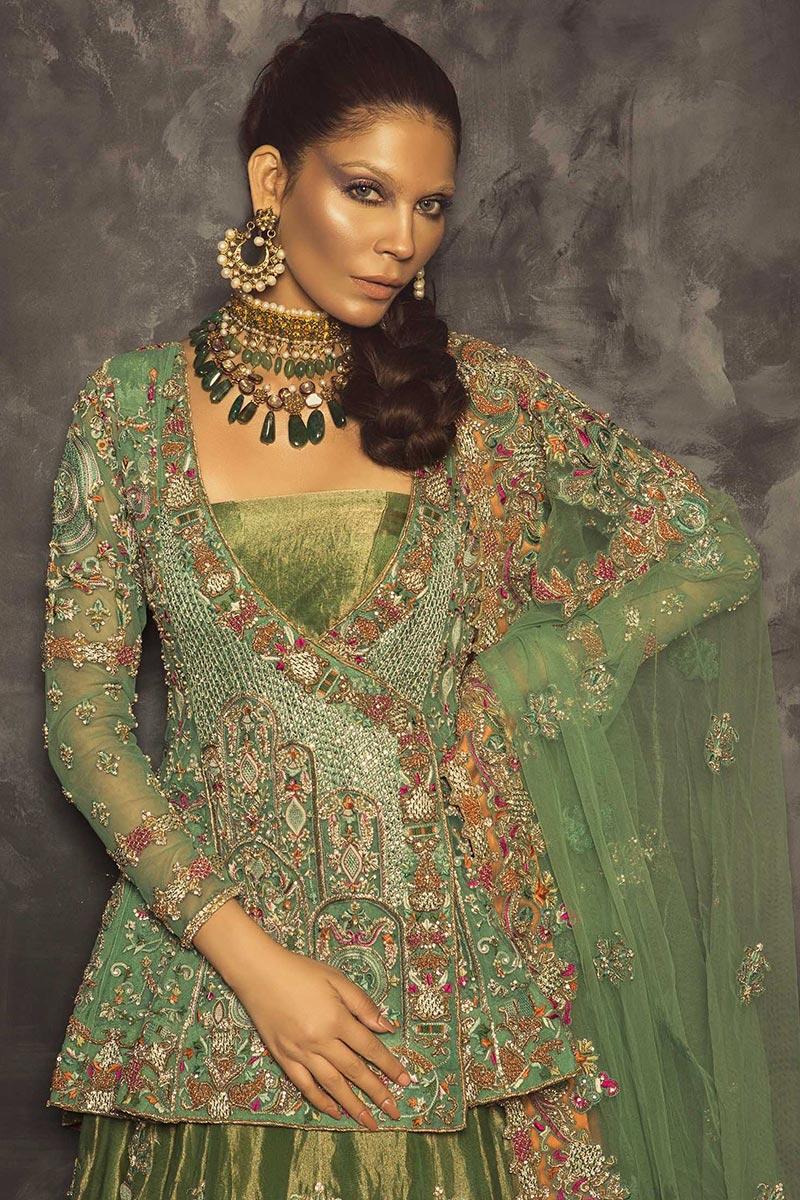 Mehendi Sharara Outfit