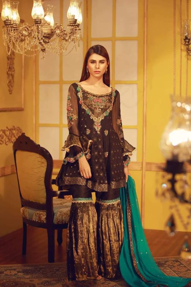 70cba40cc Beautiful Mehndi Dresses by Sarosh Salman - Pakistani Mehndi Dresses