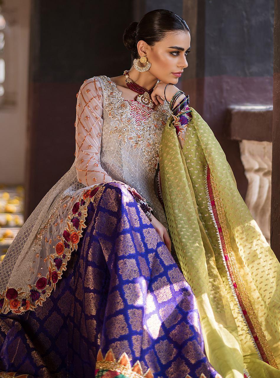 Zainab Chottani Mehndi Dresses with Prices