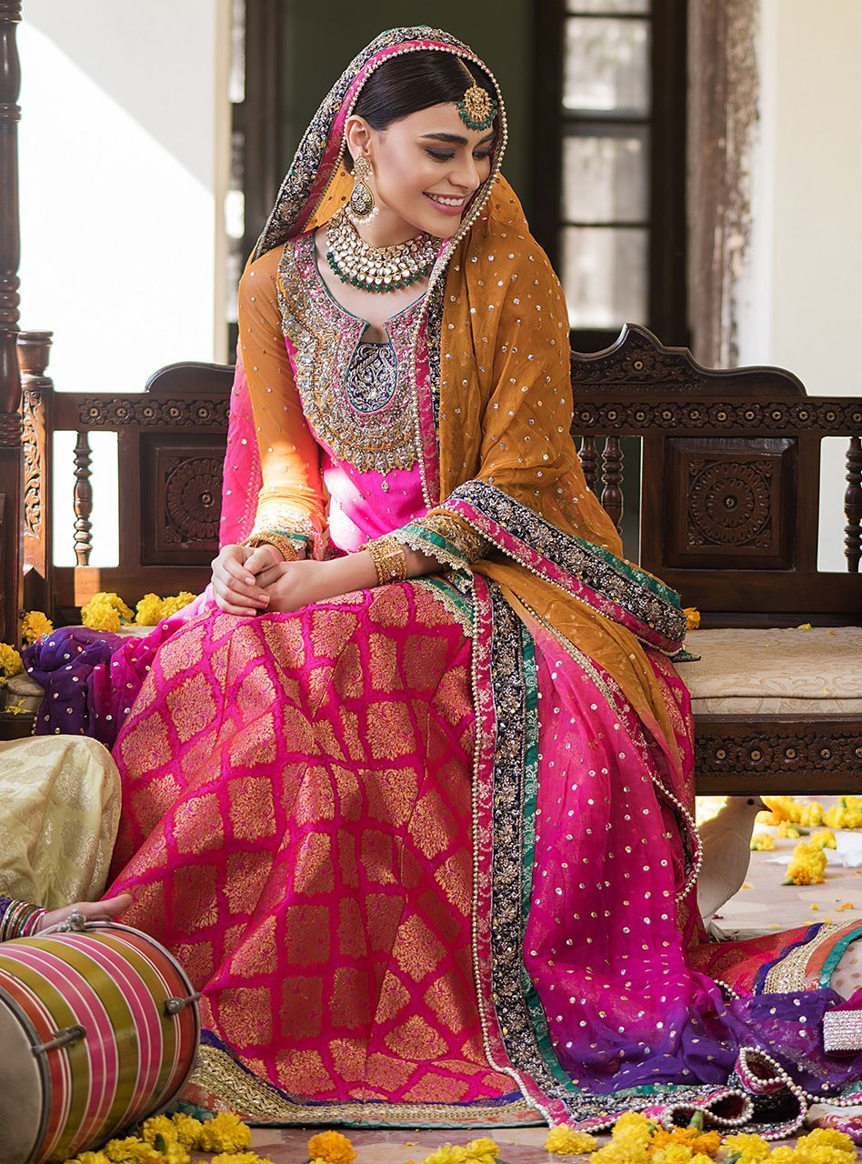 9 best dresses from the mehndi dresses collection 2019 by