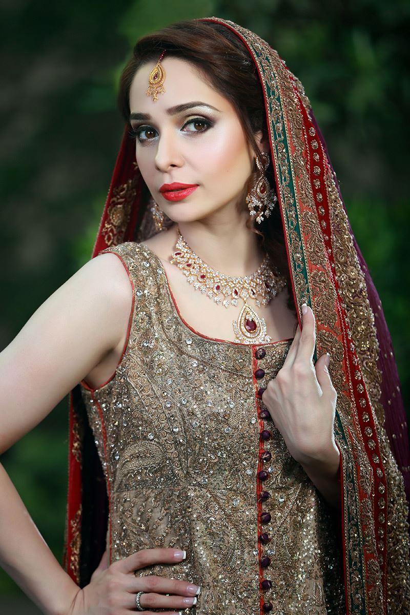 Bridal Lehenga by Aisha Imran