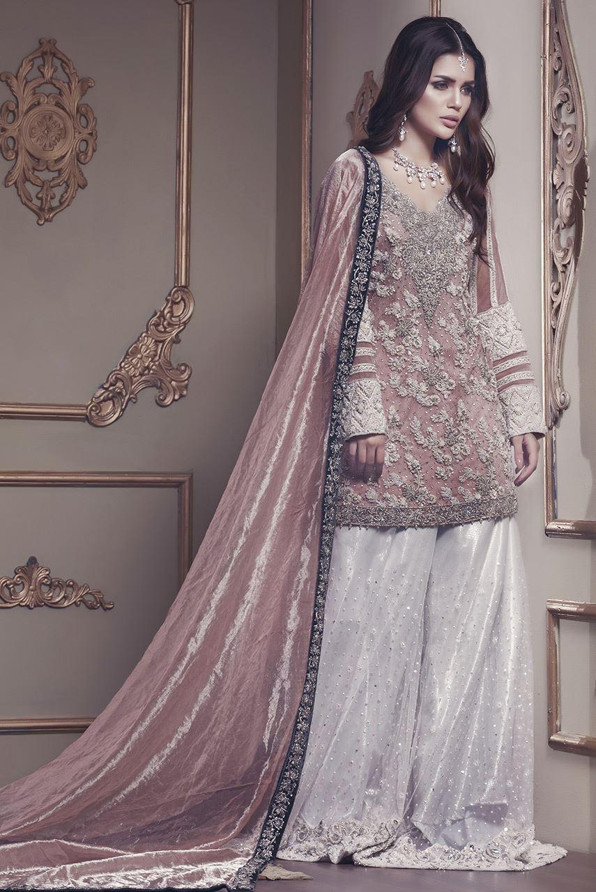 Pink Mehndi Dress