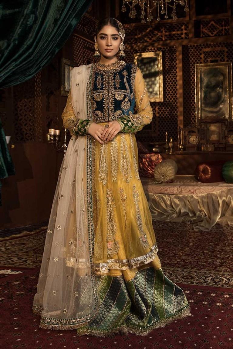 Mehndi Dresses by Maria B