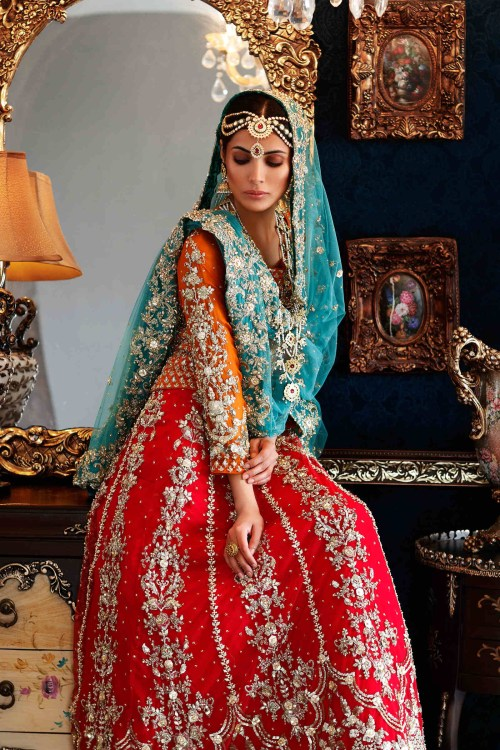 Mehndi Outfits by Maria B