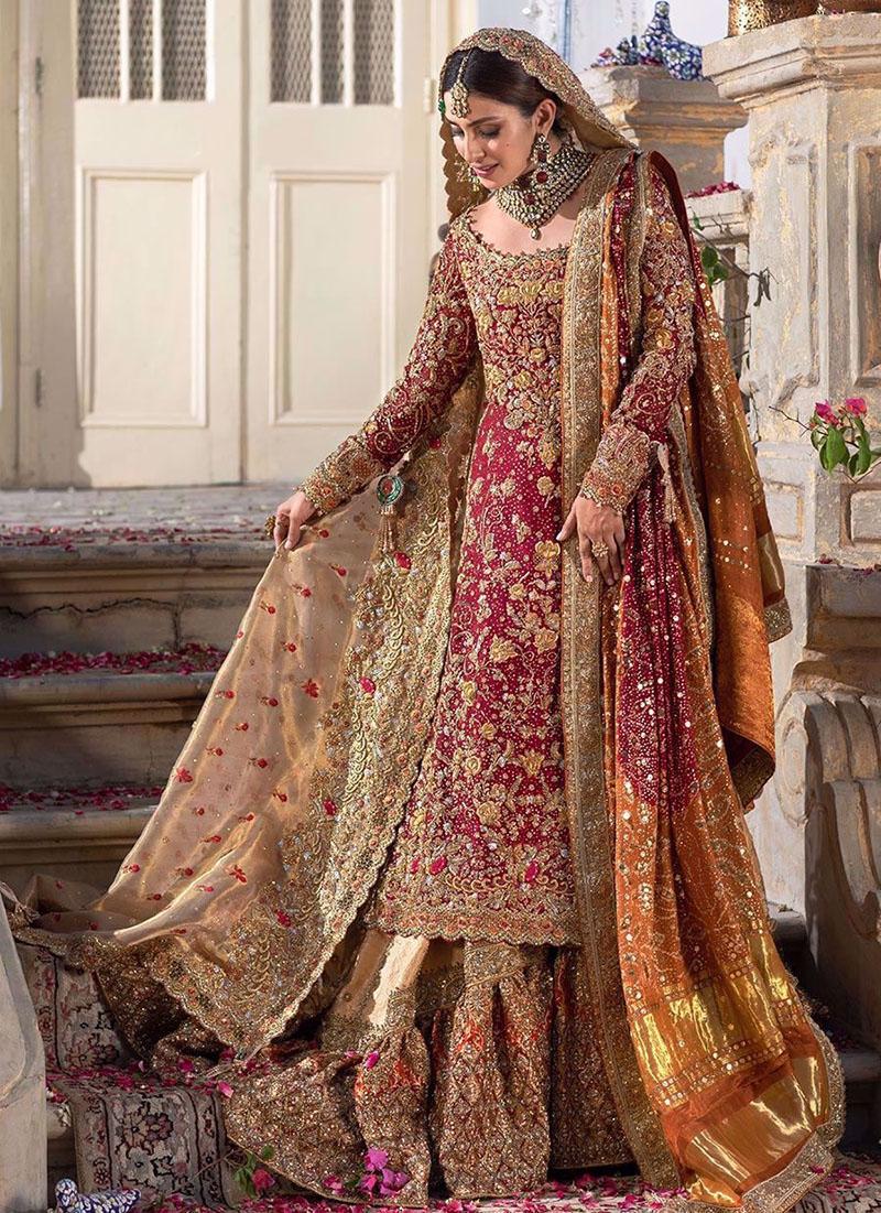 Farah Talib AzizDesigner Pakistani Wedding Dress