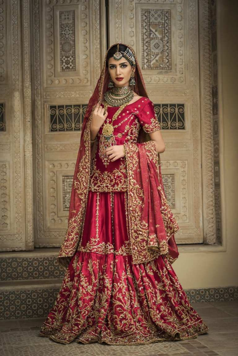 Nilofer Shahid Pakistani Designer Wedding Dress