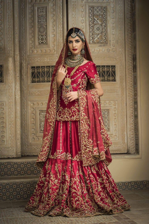 Nilofer ShahidDesigner Pakistani Wedding Dress