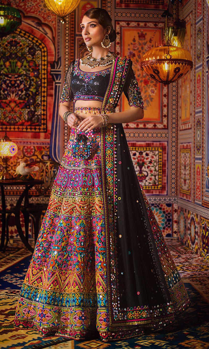 Nomi Ansari Designer Pakistani Wedding Dress