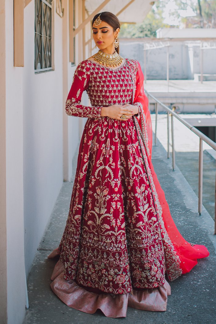 Zuria DorDesigner Pakistani Wedding Dress