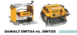 DeWALT DW734 vs. DW735 (How To Choose The Best Planer)