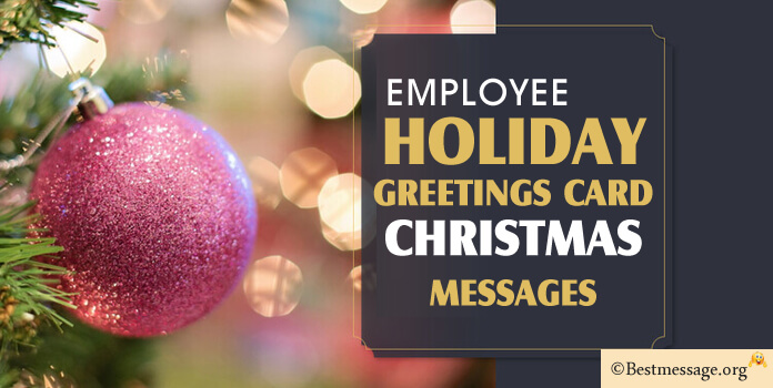 Thank You Message For Employee Appreciation