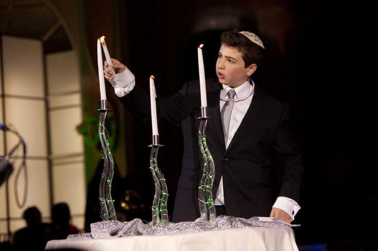 bar mitzvah candle lighting ceremony