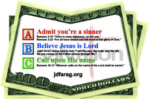 Robin Scott Ministries - Money Card