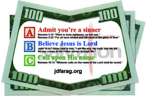 Robin Scott Ministries - Money Card - Current Style