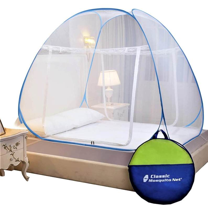 Classic Mosquito Net Double Bed King Size Polyester Foldable