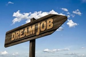 Sign dream job
