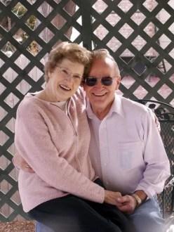 An elder couple
