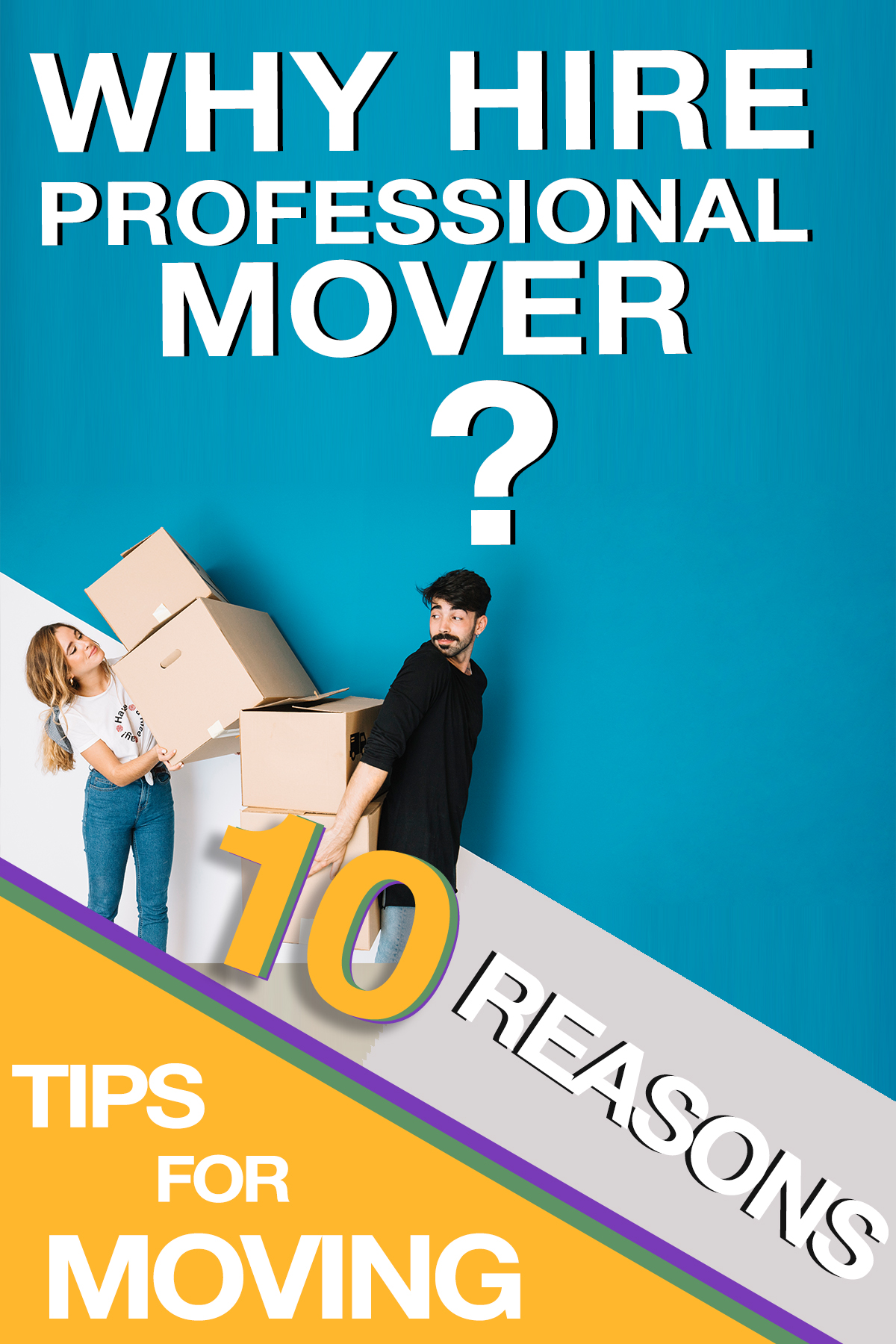 10 reasons to hire a professional mover