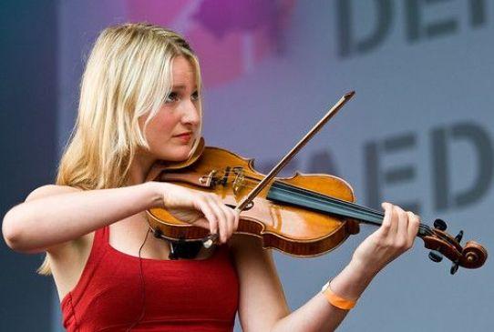 Viola Strings On Violin
