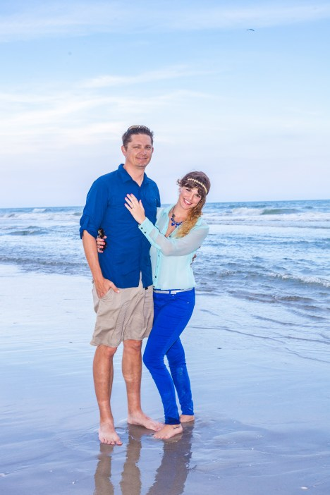 What to wear during engagement photography session.