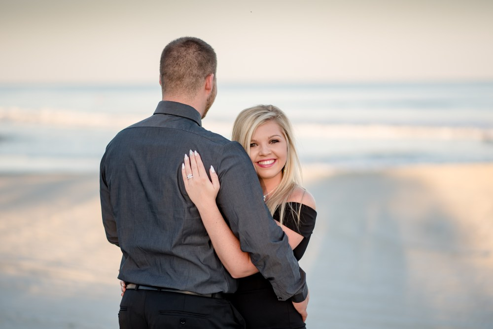 Engagement photos in myrtle beach