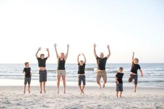 Capturing the jump shot on the beach