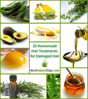 20 homemade hair treatments for damaged hair