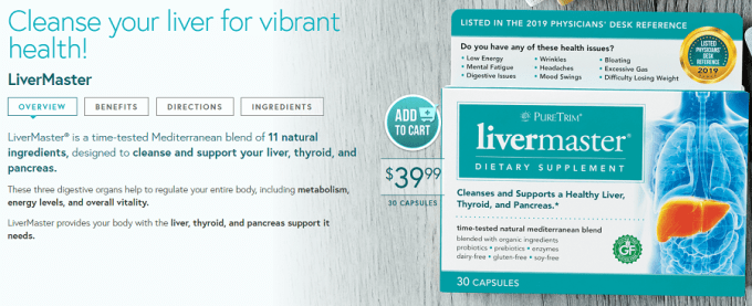 pure trim liver cleanse review