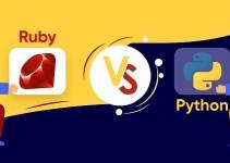ruby on rails vs python programming language developer coding