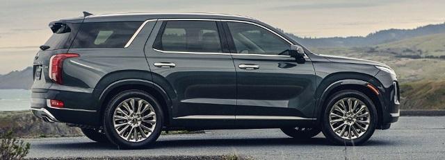 2022 Hyundai Palisade side view