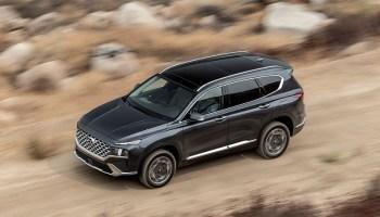 2022 Hyundai Palisade top view