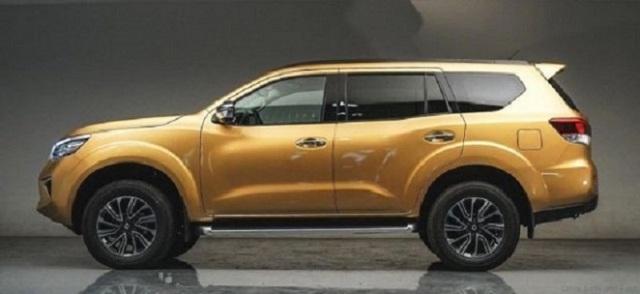 2022 Nissan Xterra side view
