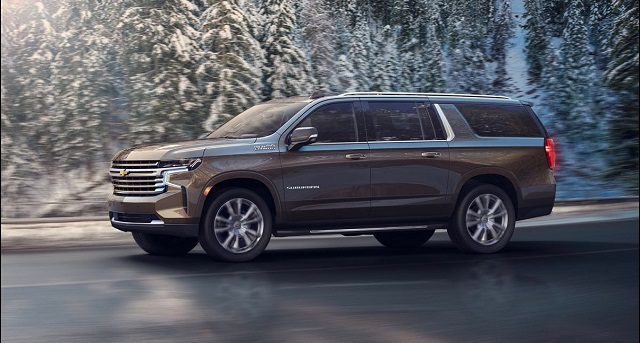 2022 Chevy Suburban side view