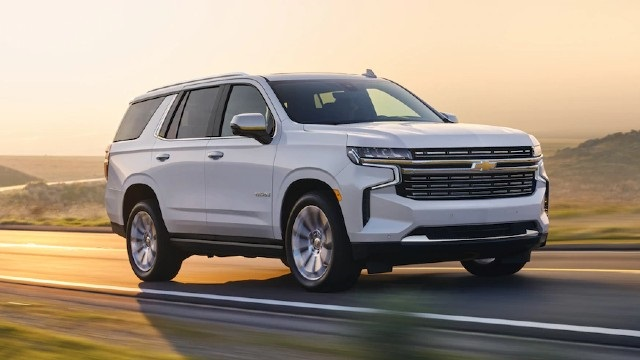 2022 Chevy Tahoe front view