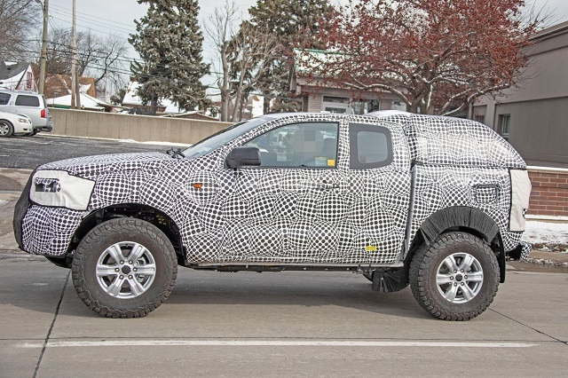2022 Ford Courier spy pics