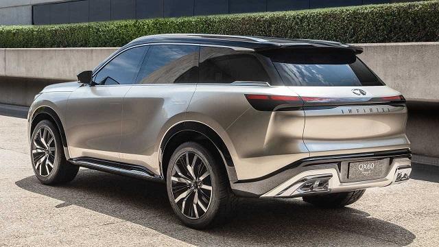 2022 Infiniti QX60 rear view