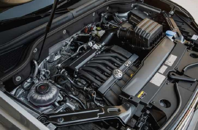 2022 VW Atlas engine