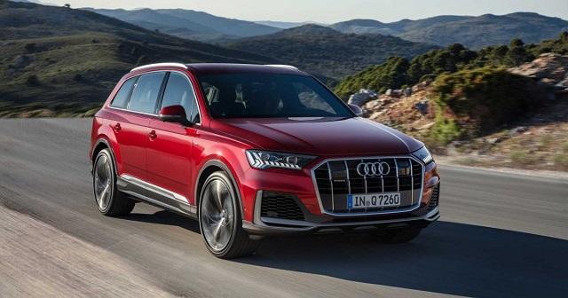 2022 Audi Q9 front view