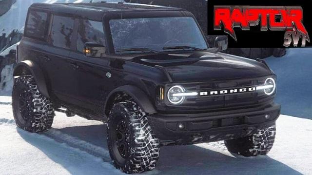 2022 Ford Bronco raptor