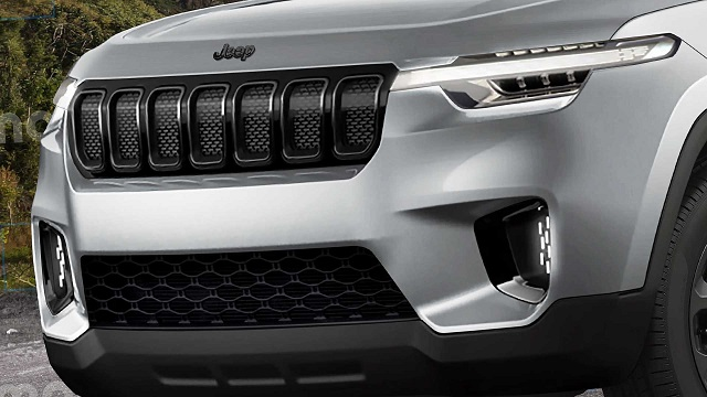 2022 Jeep Baby SUV front view