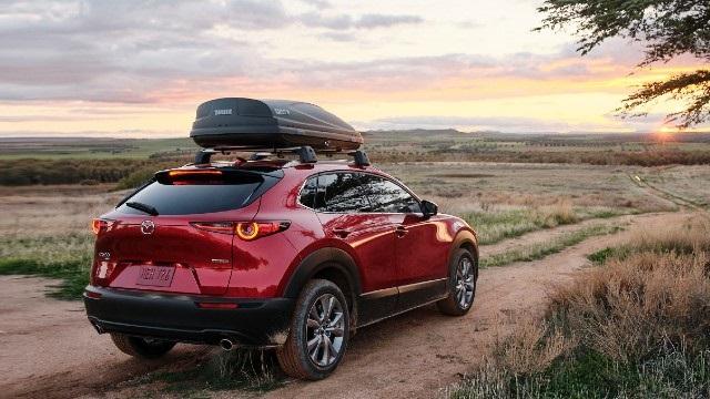2022 Mazda CX-30 rear view