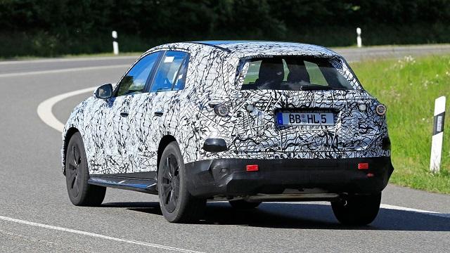 2022 Mercedes-Benz GLC rear view