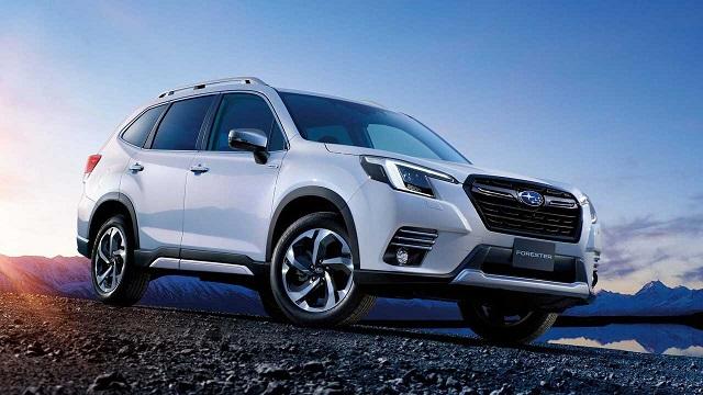 2022 Subaru Forester facelift