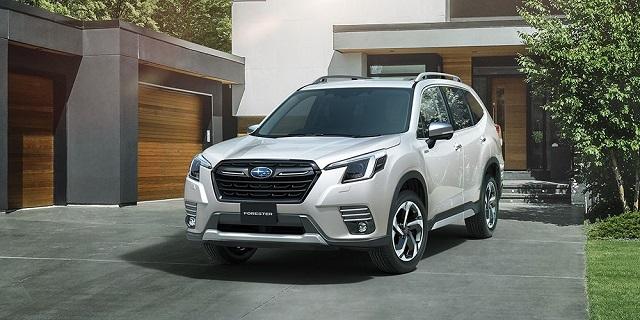 2022 Subaru Forester update