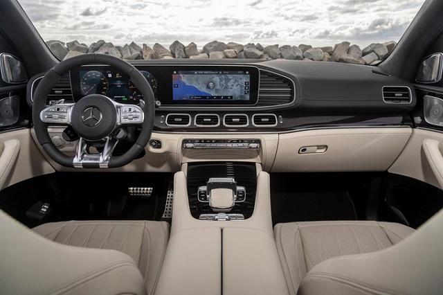 2022 Mercedes-Benz GLE interior