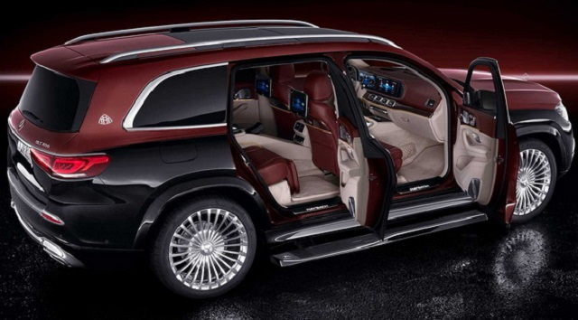 2022 Mercedes-Maybach GLS 600 rear view